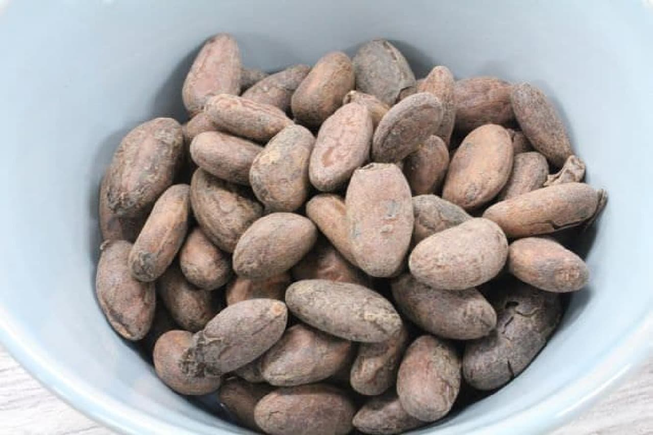 チョコ作りに使うローストカカオ