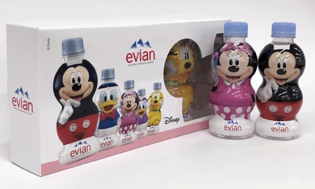 エビアン ディズニーデザインボトル