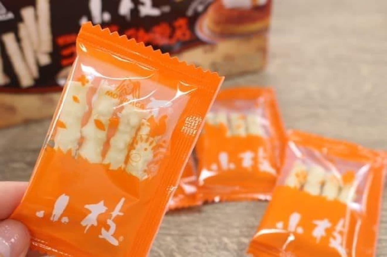 「小枝<シロノワール味>」は、コメダ珈琲店のデザート「シロノワール」フレーバーの小枝