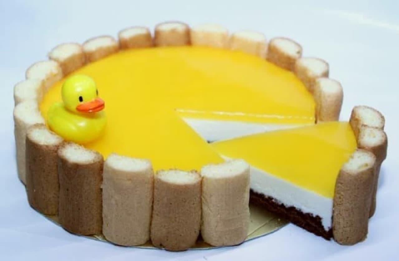 しまなみ温泉 喜助の湯(きすけのゆ)「桶チーズケーキ」