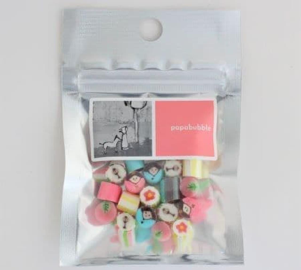 「ひなまつりMIX」は、桃の節句を祝う5種のキャンディが組み合わされたセット
