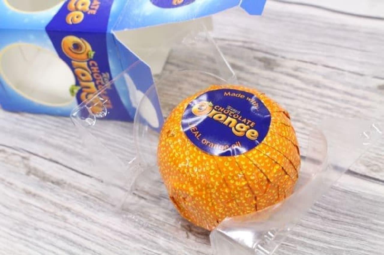 「テリーズ オレンジチョコレートミルク」は豊潤なオレンジフレーバーが加えられたミルクチョコレート