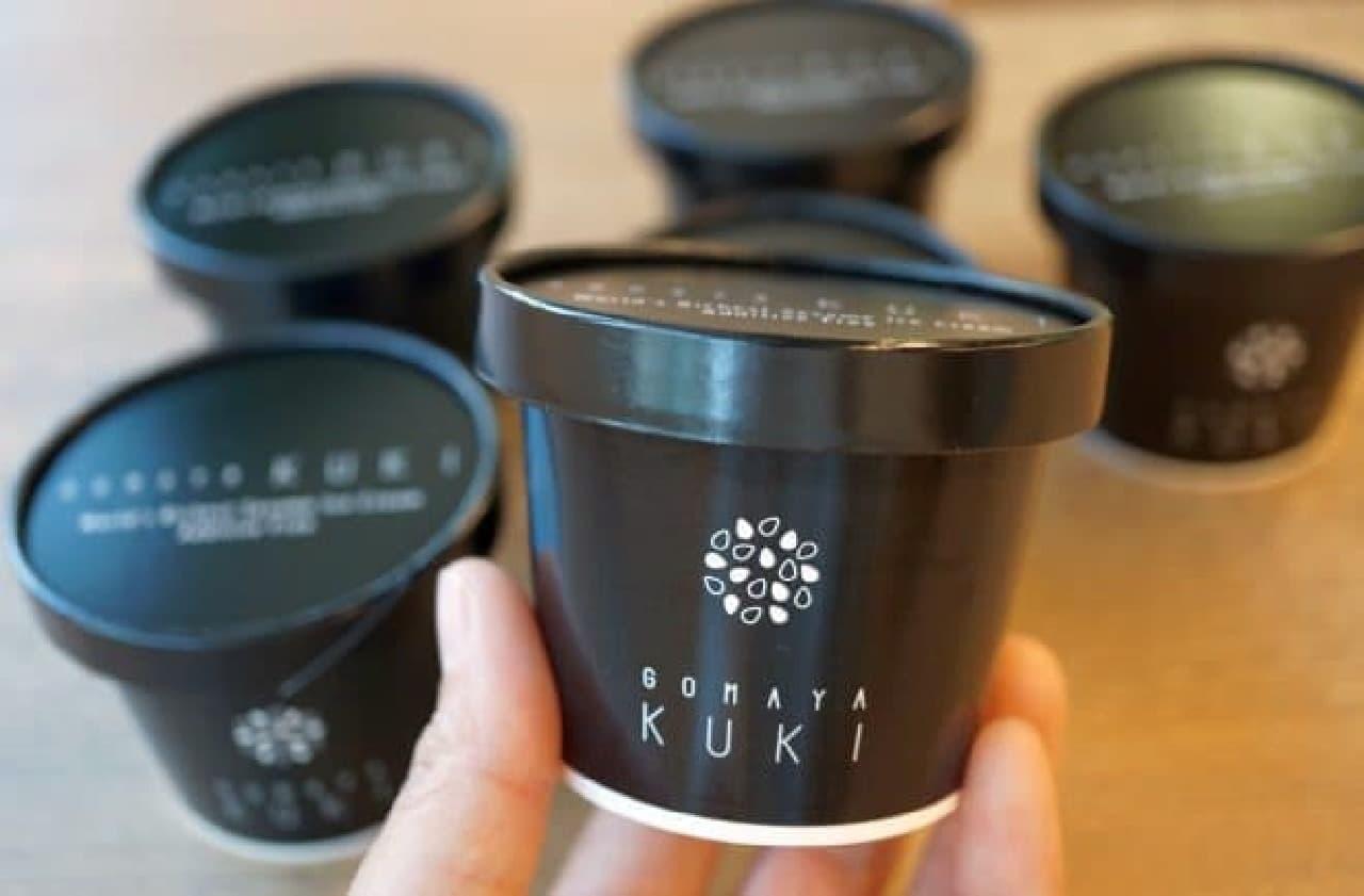 GOMAYA KUKI(ごまや くき)「お持ち帰り用カップアイス」