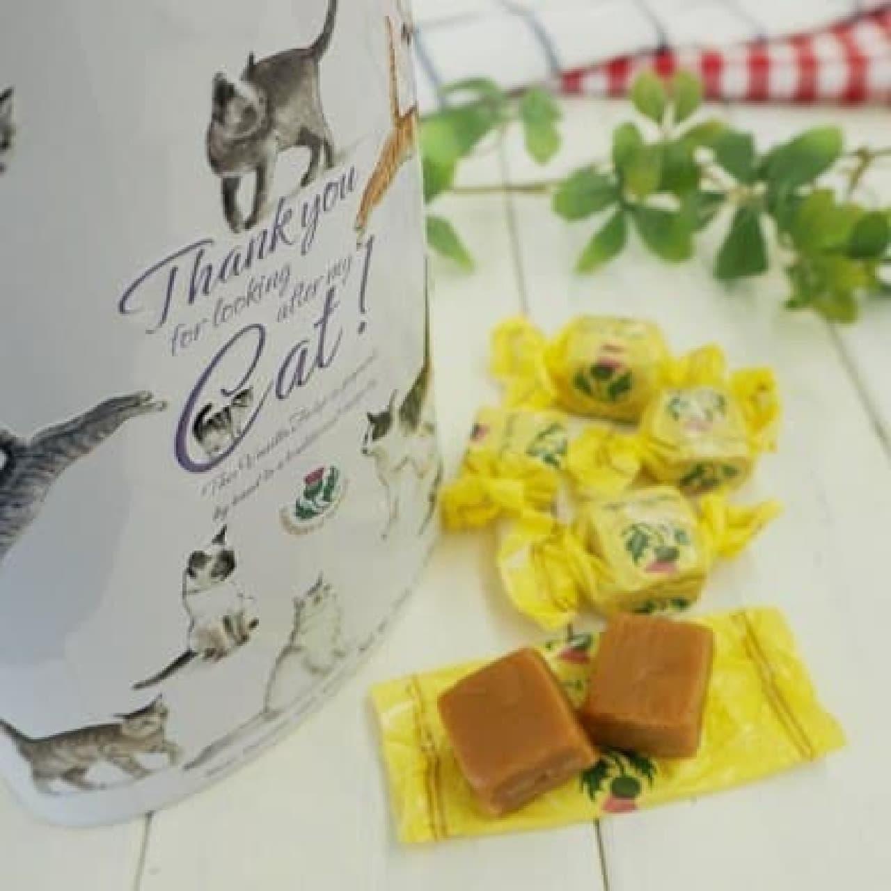 カルディコーヒーファーム「ガーディナー バニラファッジ キャット缶」