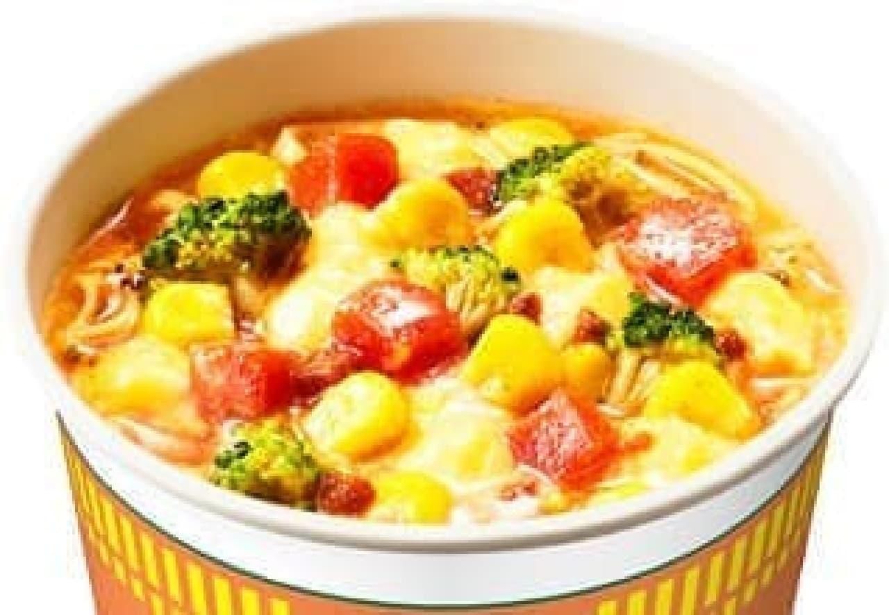日清食品「カップヌードル クリーミートマトヌードル」