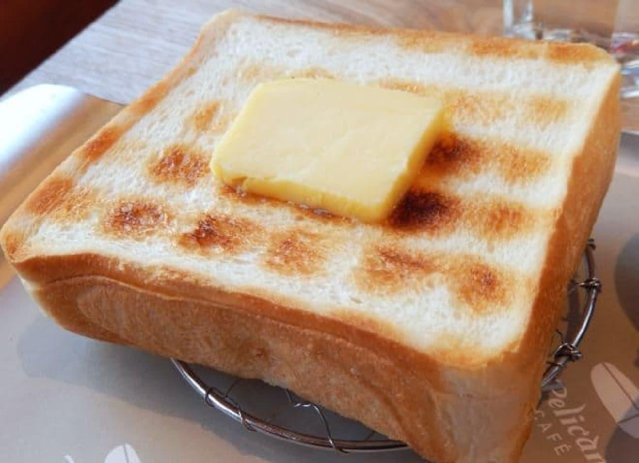 ペリカンカフェ「炭焼きトースト」
