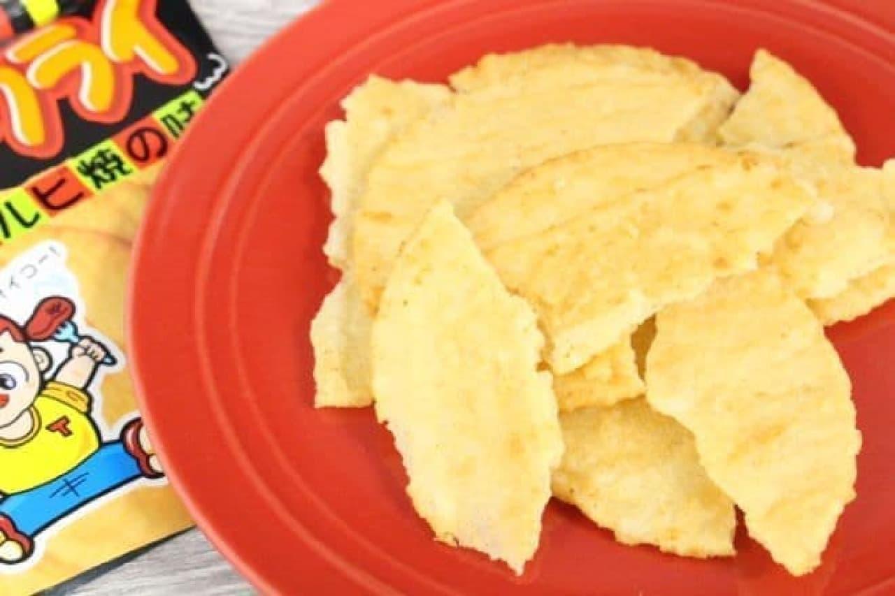 東豊製菓から販売されている「ポテトフライ カルビ焼の味」