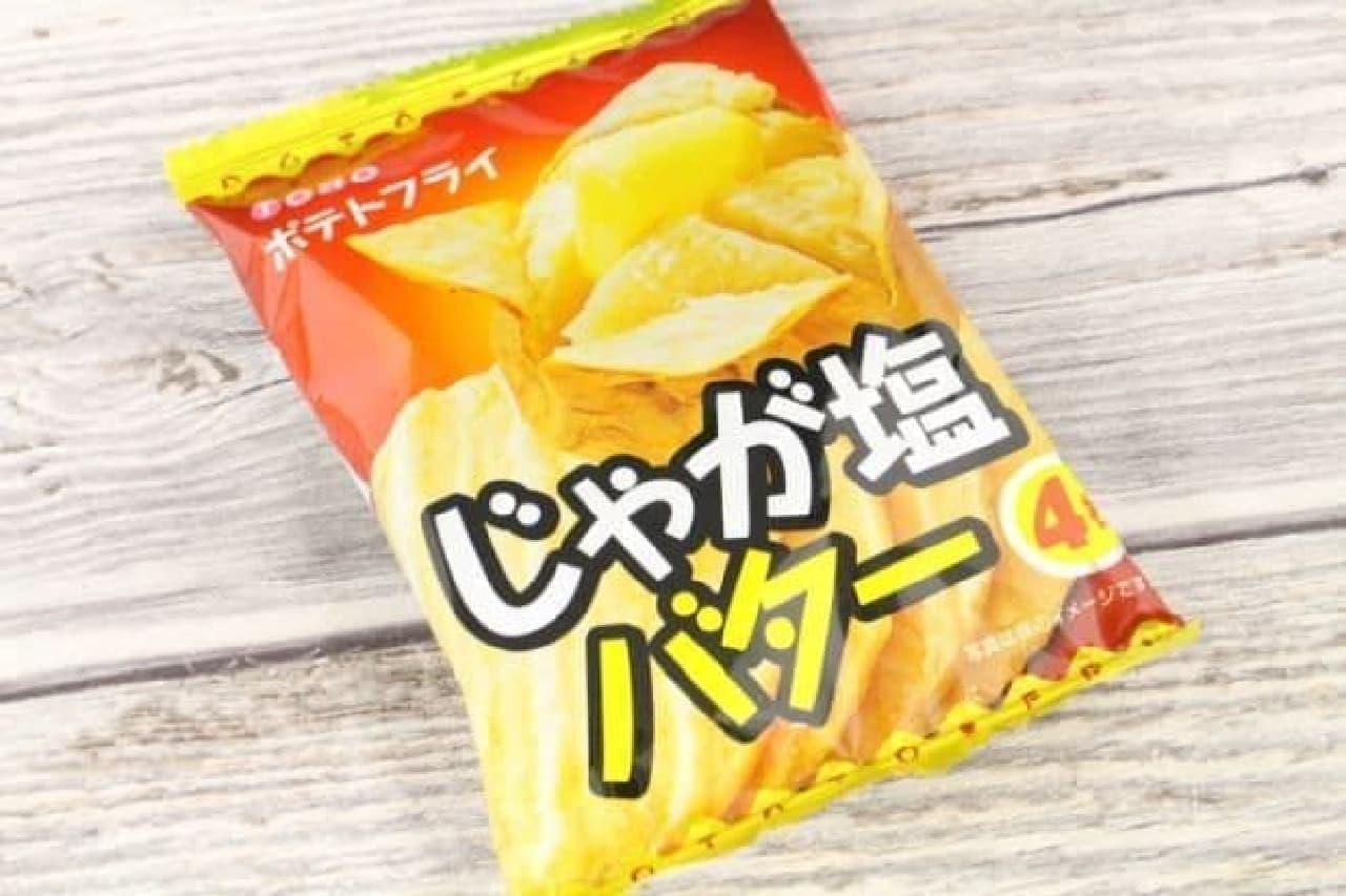 東豊製菓から販売されている「じゃが塩バター」