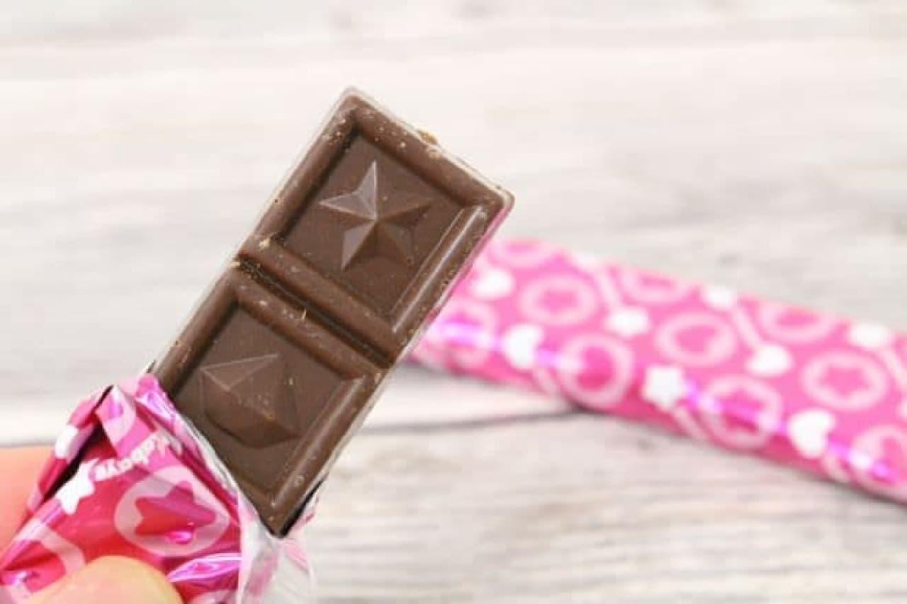 「セボンスター」のチョコレート