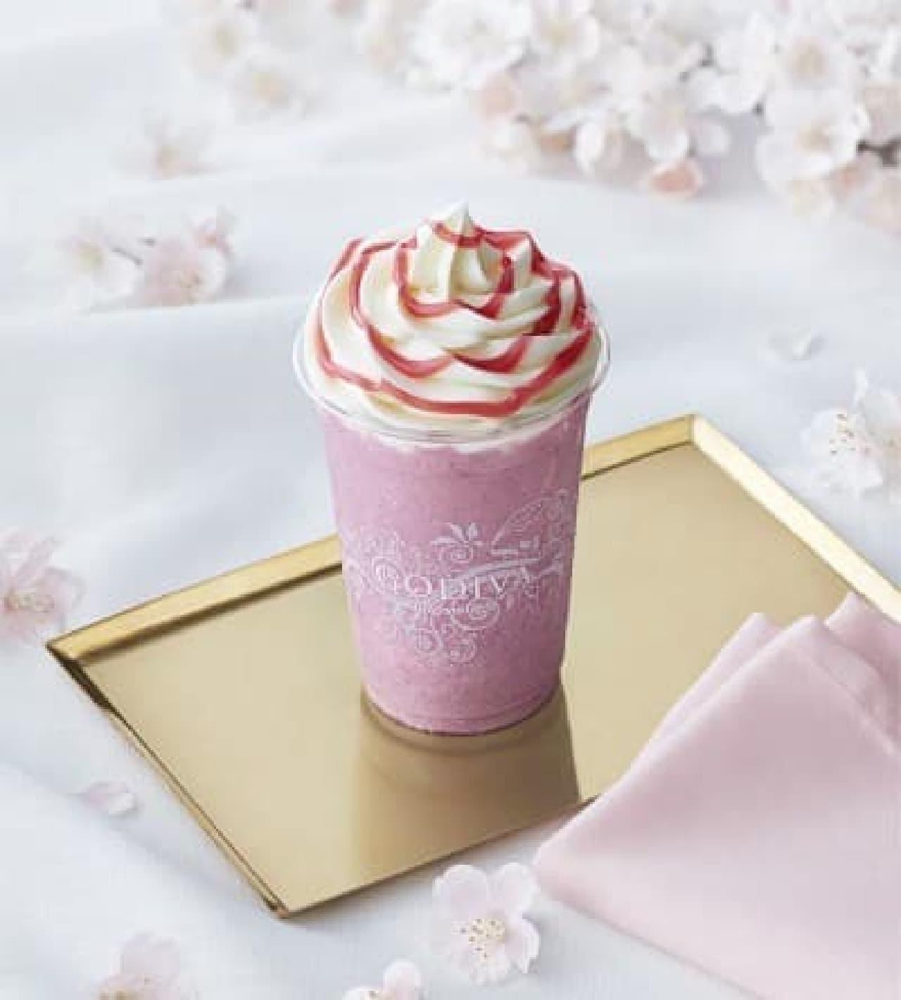 ゴディバ「ショコリキサー ホワイトチョコレート さくら」