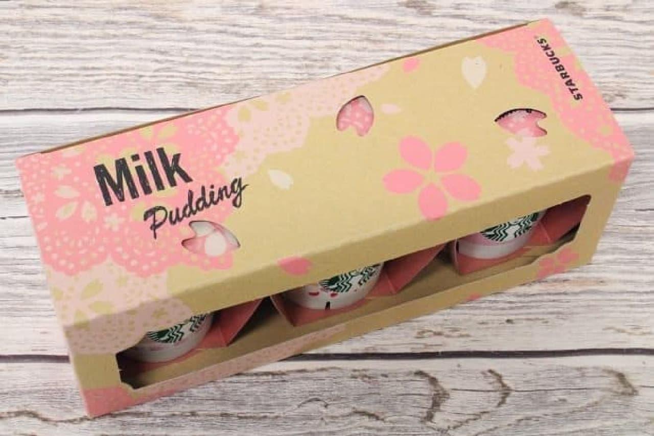 スターバックス「ミルクプリン さくらアソート」