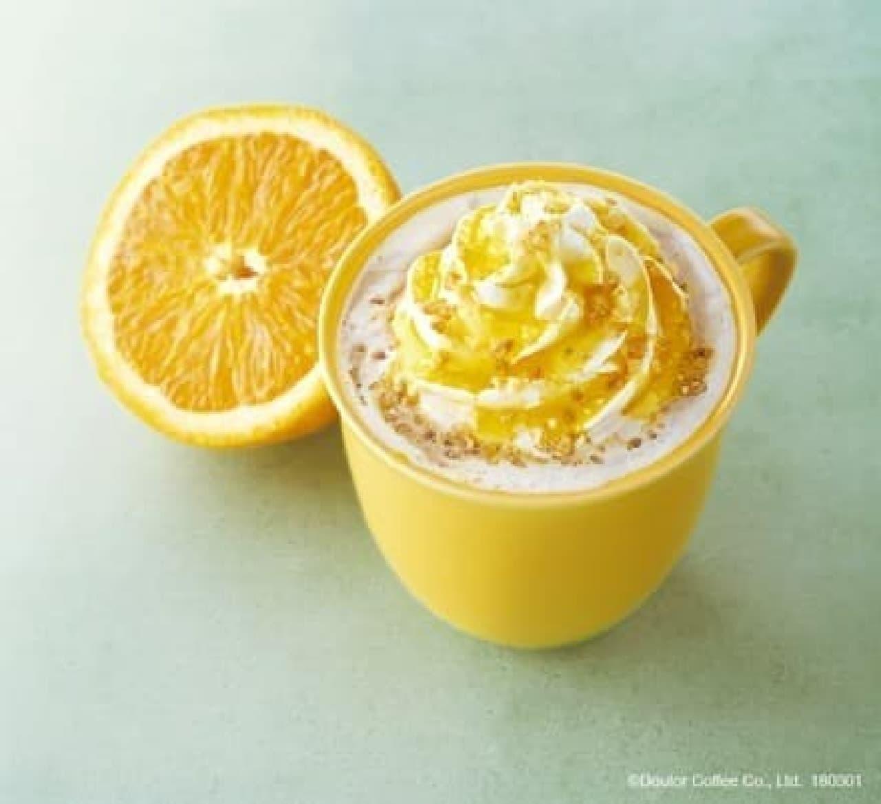 エクセルシオール カフェ「オレンジ・ブリュレラテ」
