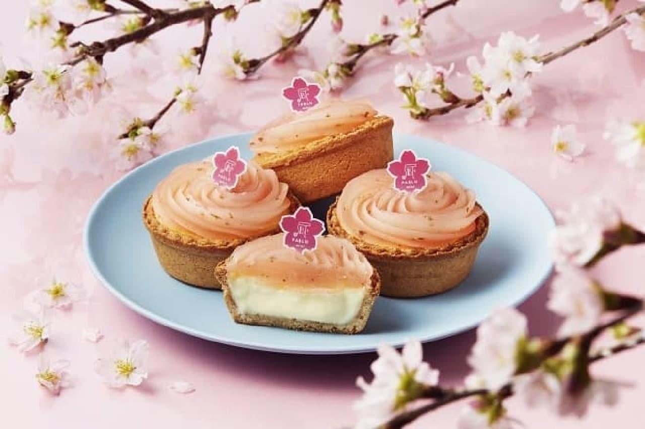 焼きたてチーズタルト専門店パブロミニ「PABLO mini-桜もち」