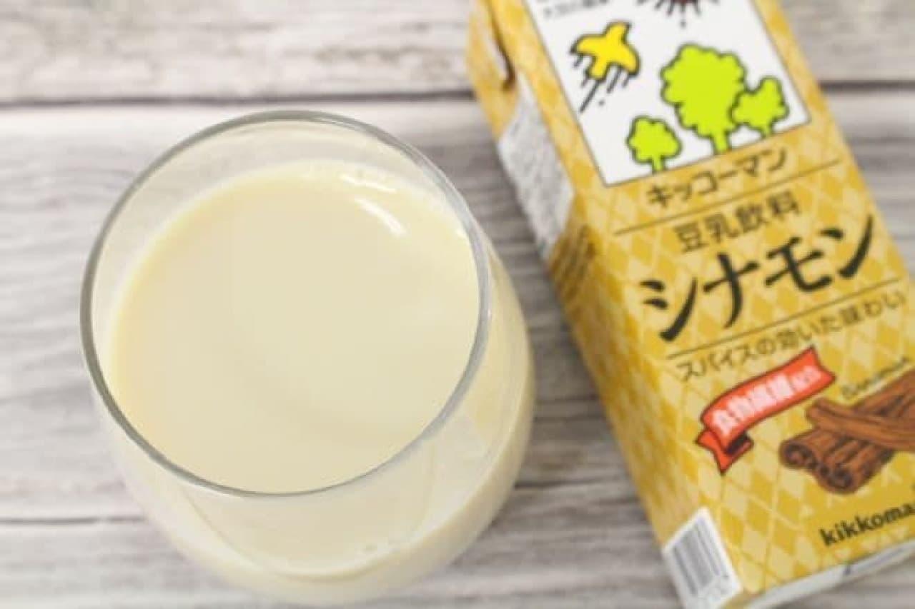 シナモンは、人気のシナモンをブレンドした豆乳飲料