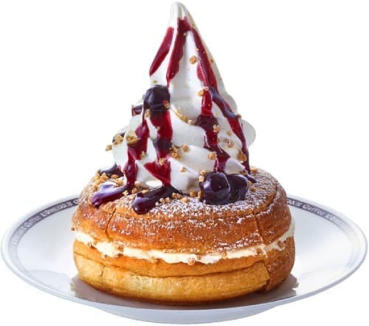 コメダ珈琲店「シロノワール N.Y.(ニューヨーク)チーズケーキ」