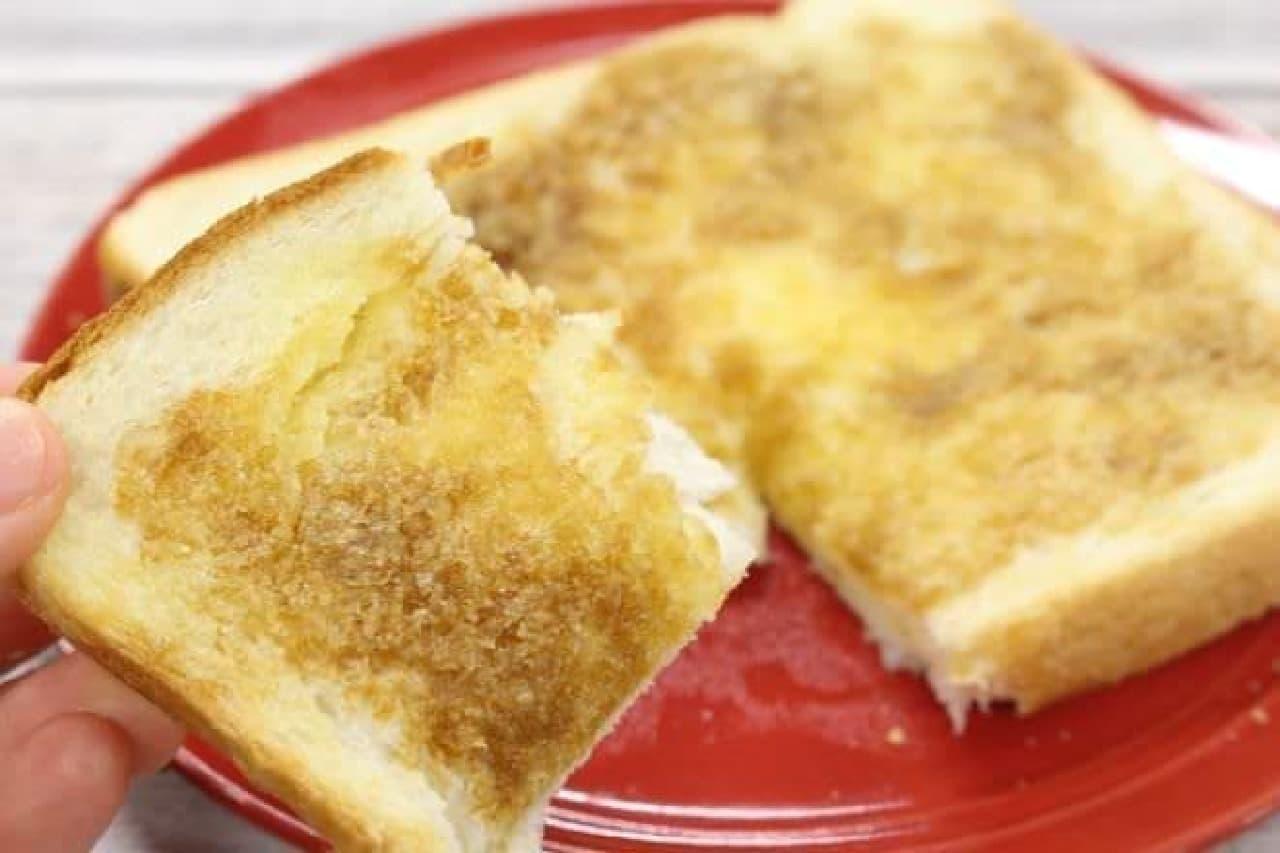 砂糖醤油トースト