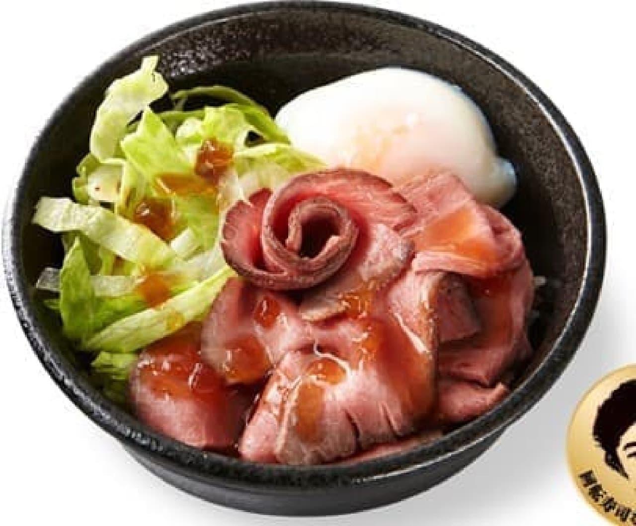 かっぱ寿司「TRB(とろたまローストビーフ丼)」