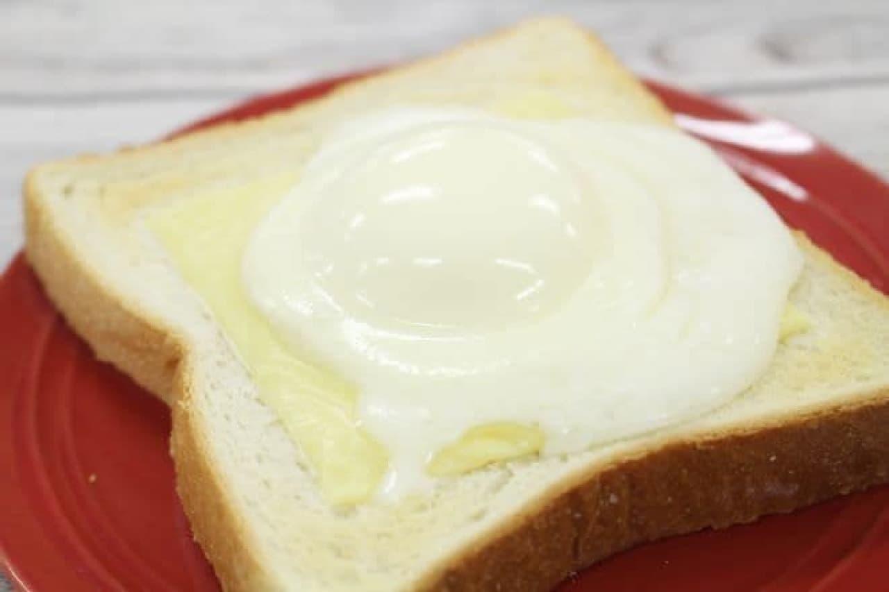 雪見だいふくを使った雪見だいふくトースト