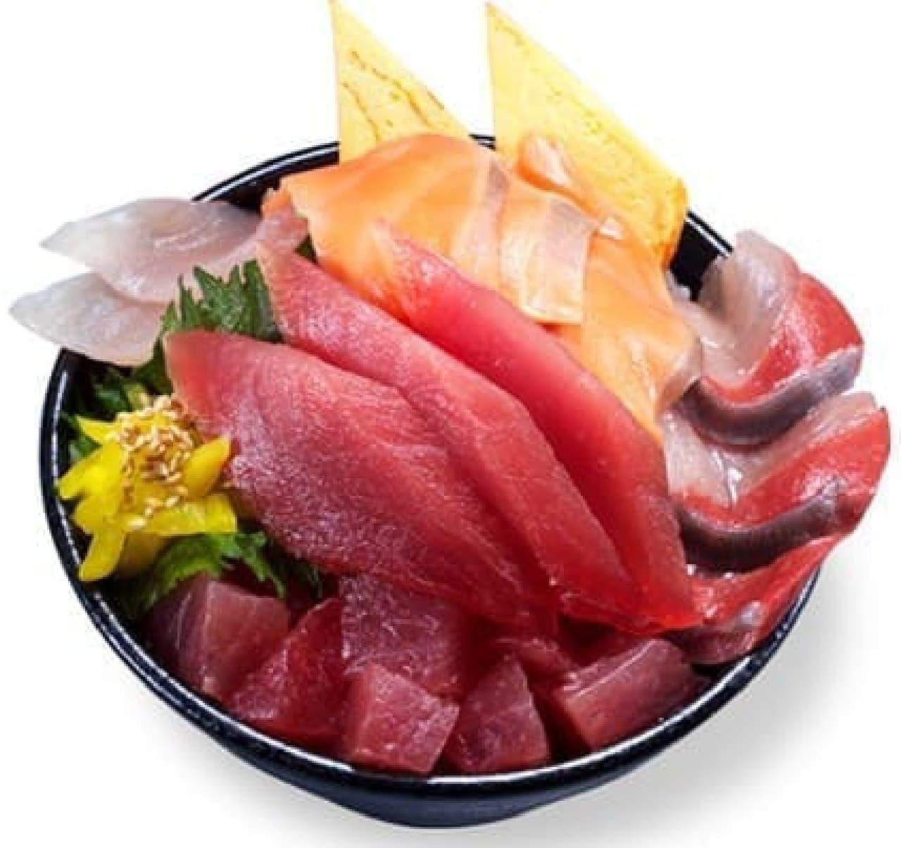 かっぱ寿司「イチ推し超絶 海鮮丼」