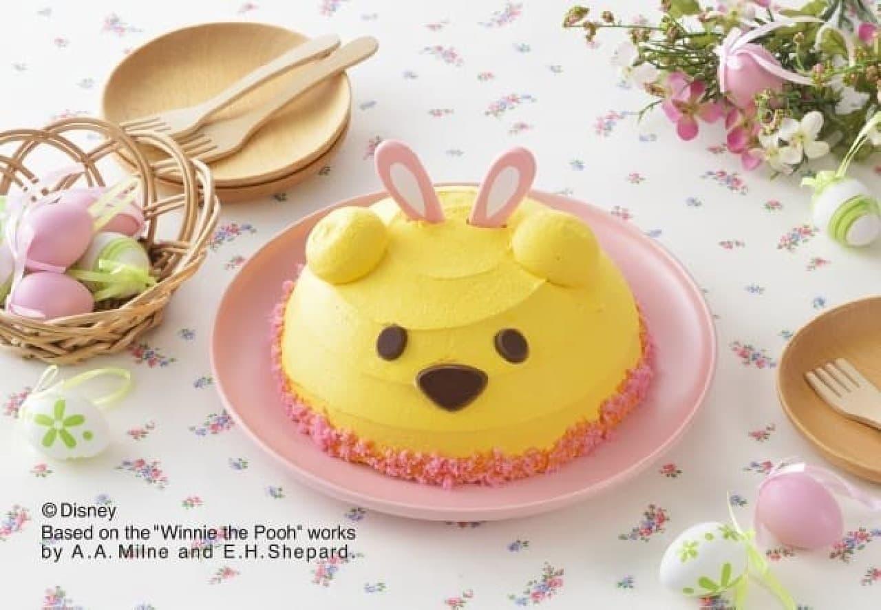 銀座コージーコーナー「<くまのプーさん>イースターケーキ」