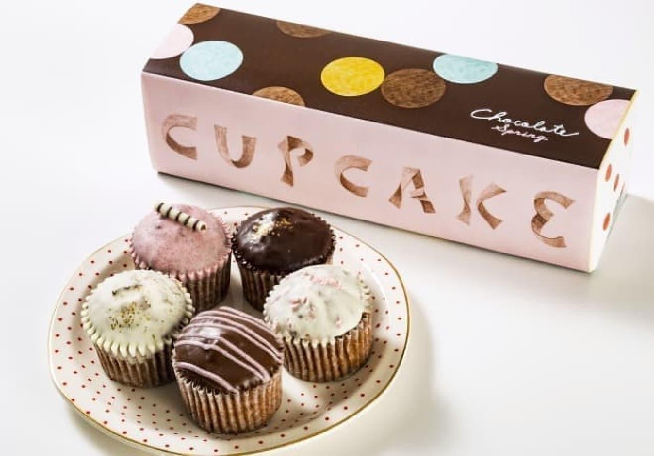 フェアリーケーキフェアの「ベイクドチョコレート スプリング」