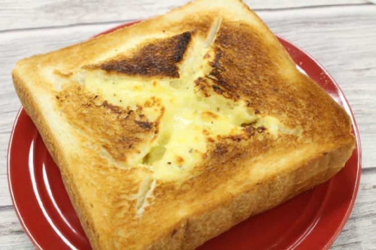 チーズフォンデュトースト