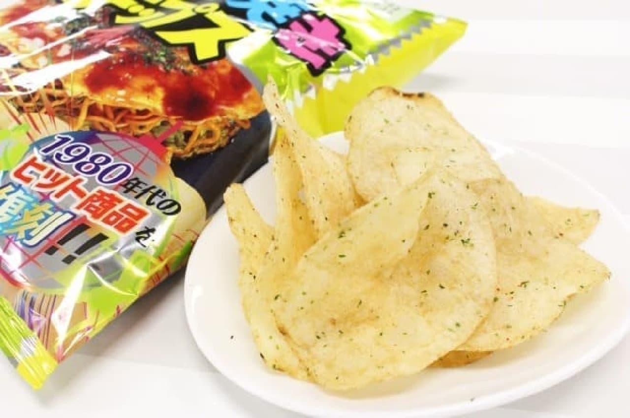 カルビー「お好み焼きチップス」