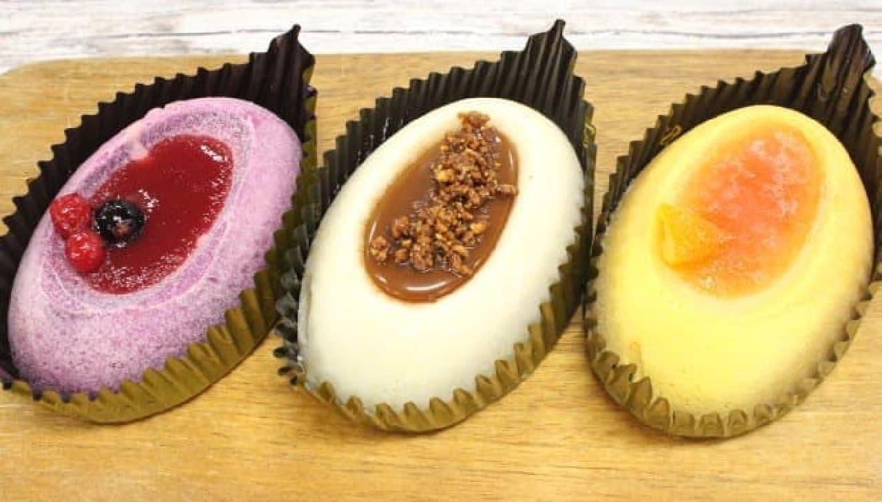 南風農菓舎「カラー芋・アラモード」