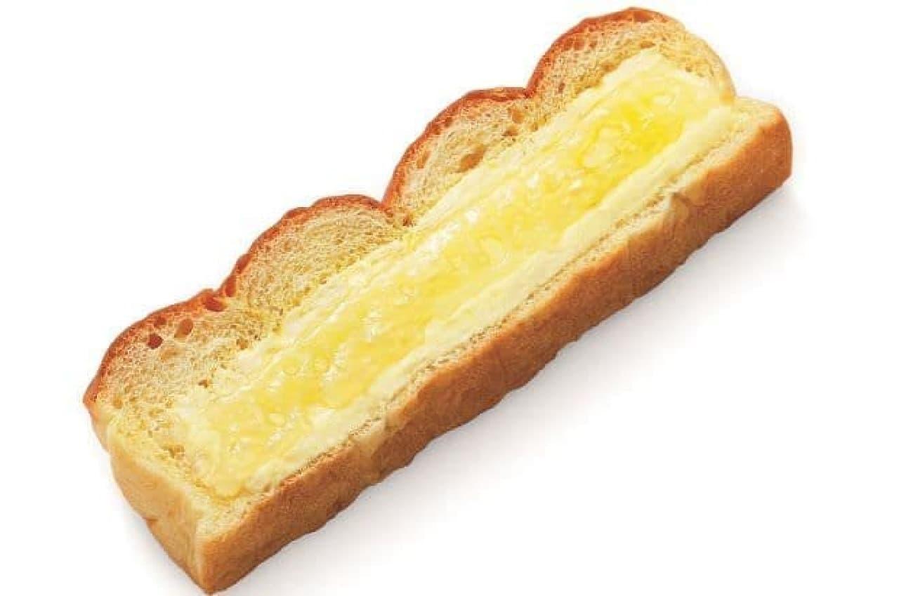 はちみつマーガリンパンはマーガリンとコクのあるはちみつフィリングが塗られた菓子パン