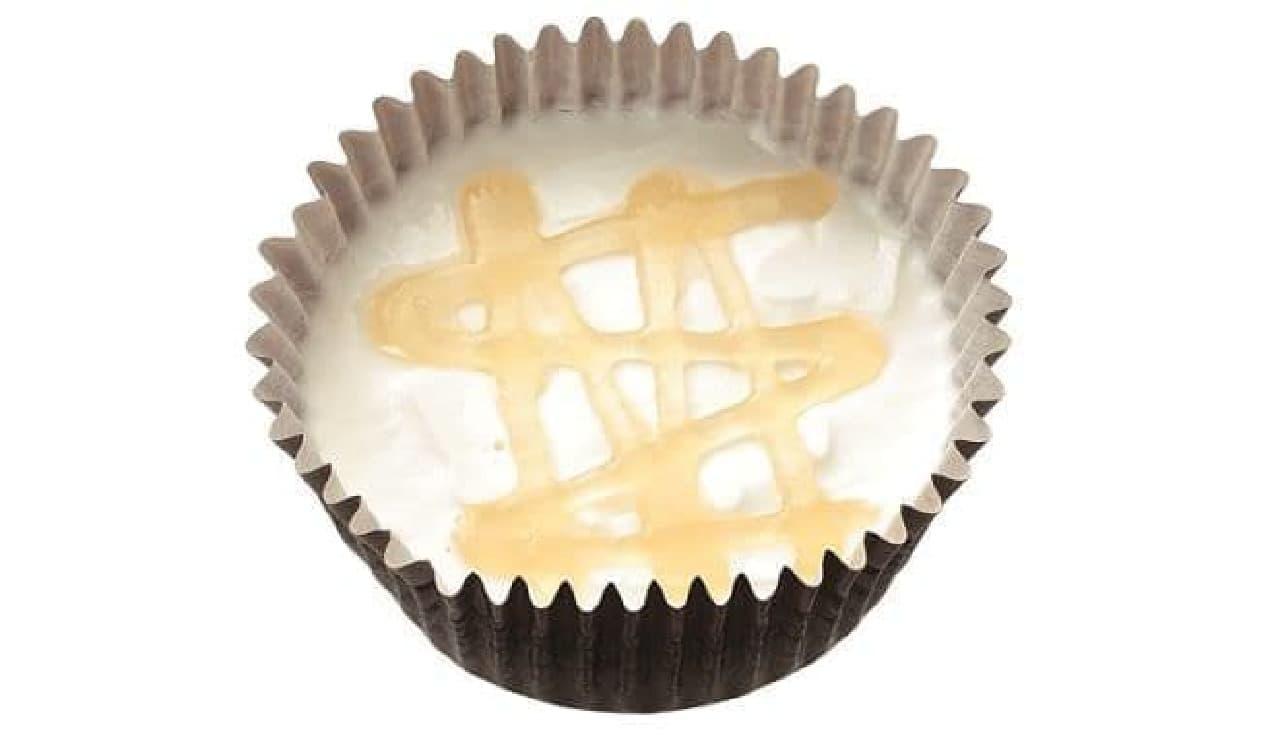 はちみつヨーグルトケーキはヨーグルトの酸味とはちみつの甘みのバランスが楽しめるケーキ