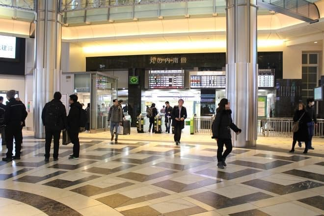 JR東京駅の丸の内南口