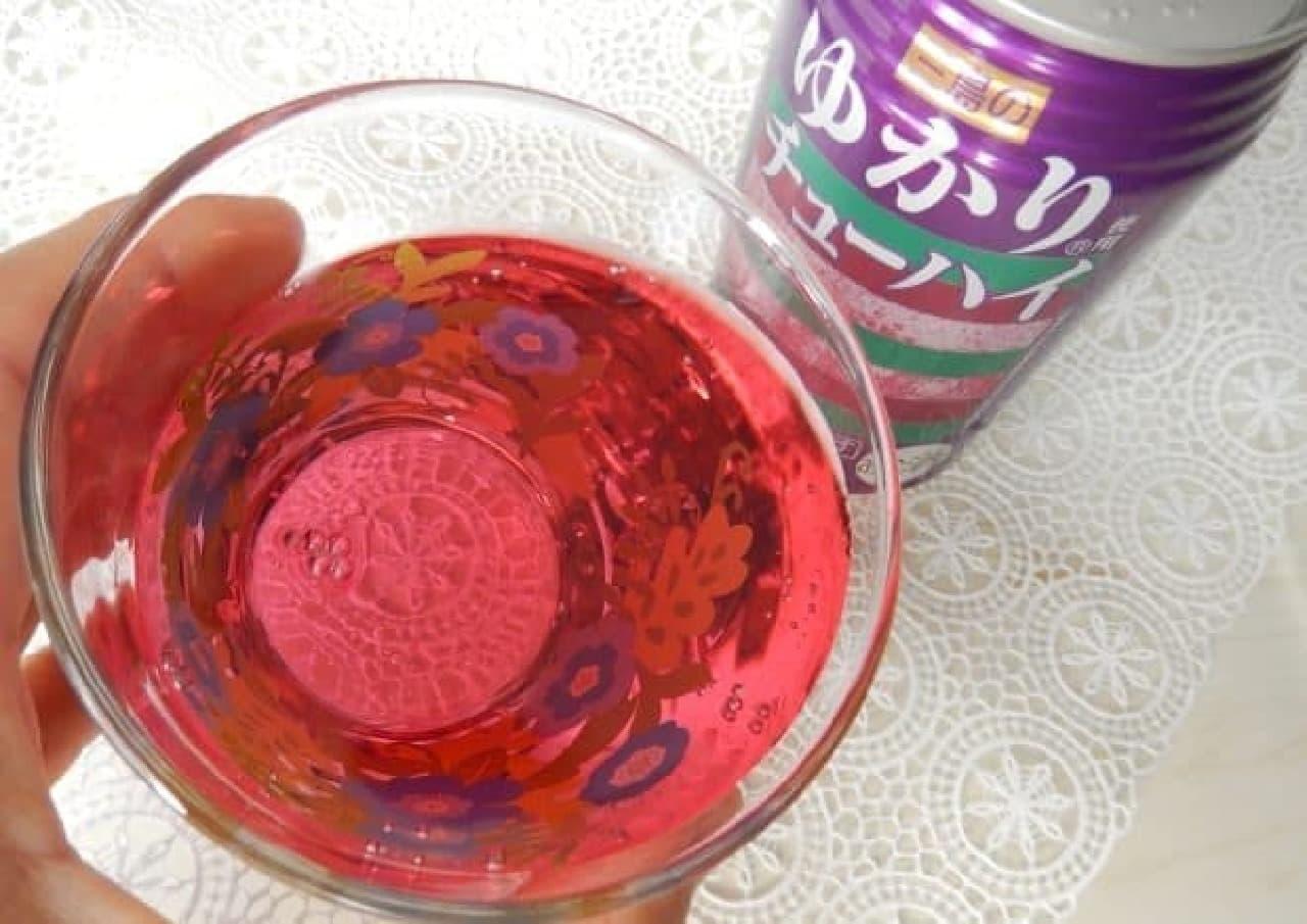 三井食品「三島のゆかり使用チューハイ」