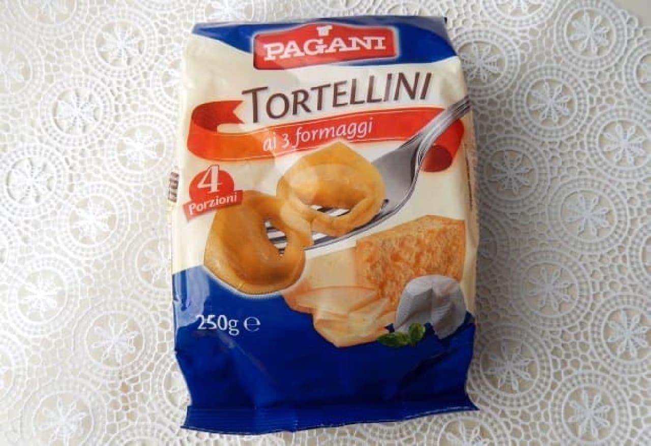カルディで売れている「パガーニ トルテリーニ チーズ」