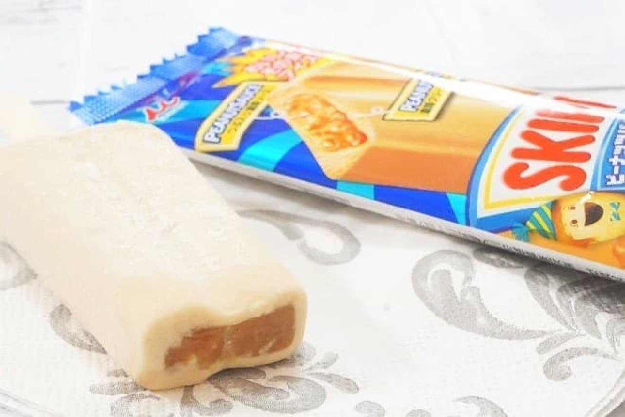 井村屋「SKIPPY(スキッピィ)ピーナッツバターアイス」