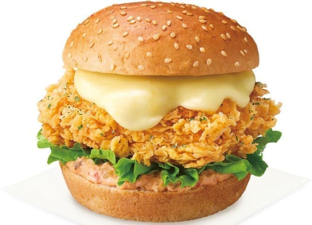 KFC「とろ~りチーズチキンサンド」