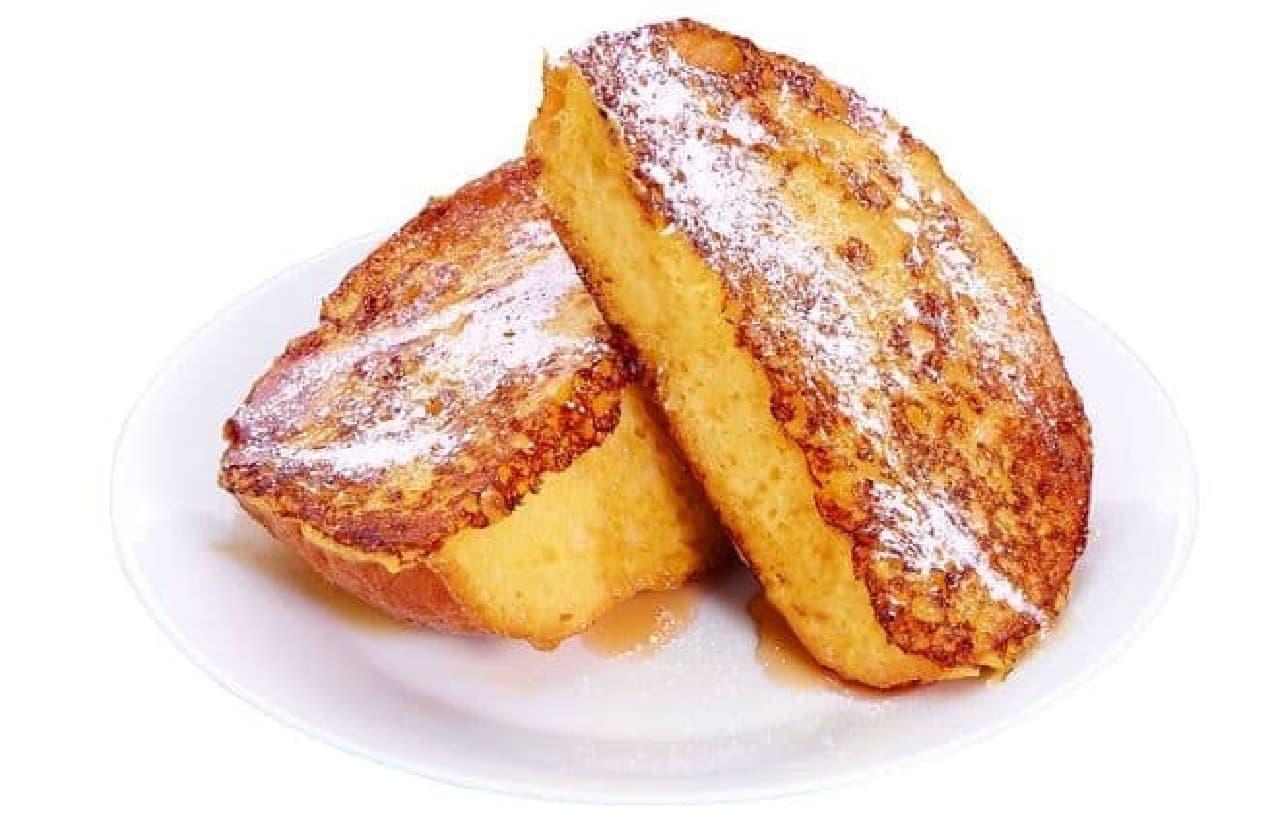 「フレンチトースト」は、フレンチトーストをリニューアルしたもの