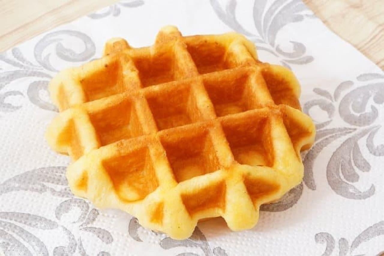 東急ストアプラス「北海道産バター使用ベルギーワッフル」