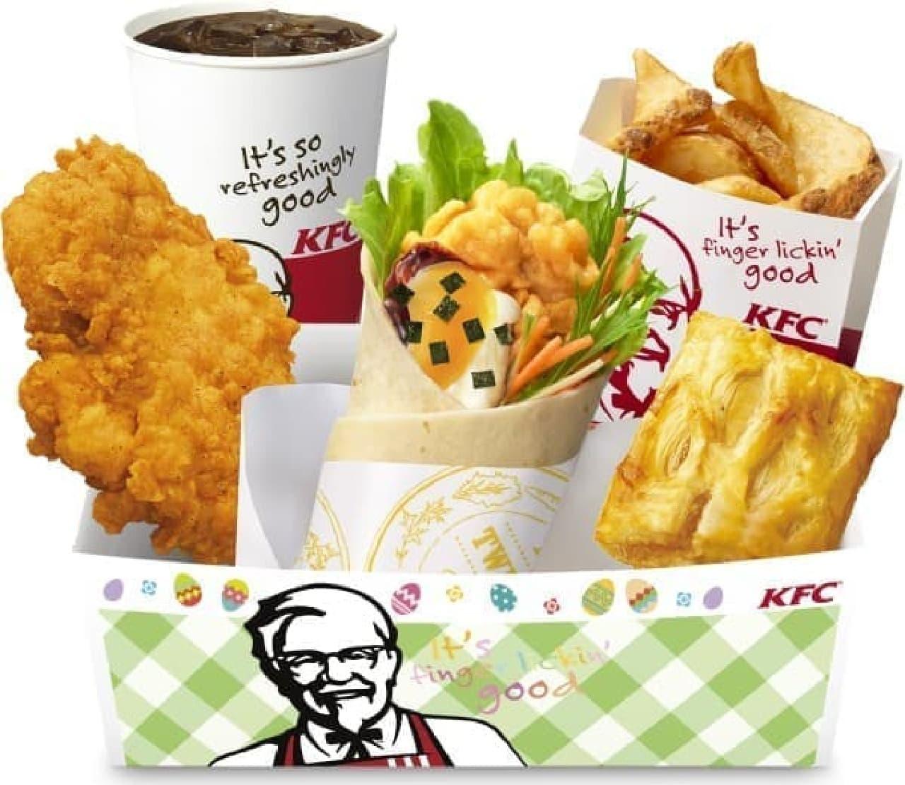 ケンタッキー・フライド・チキン(KFC)「てりやきたまごツイスター」