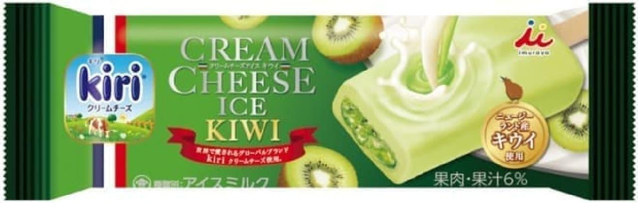 井村屋「クリームチーズアイス キウイ」