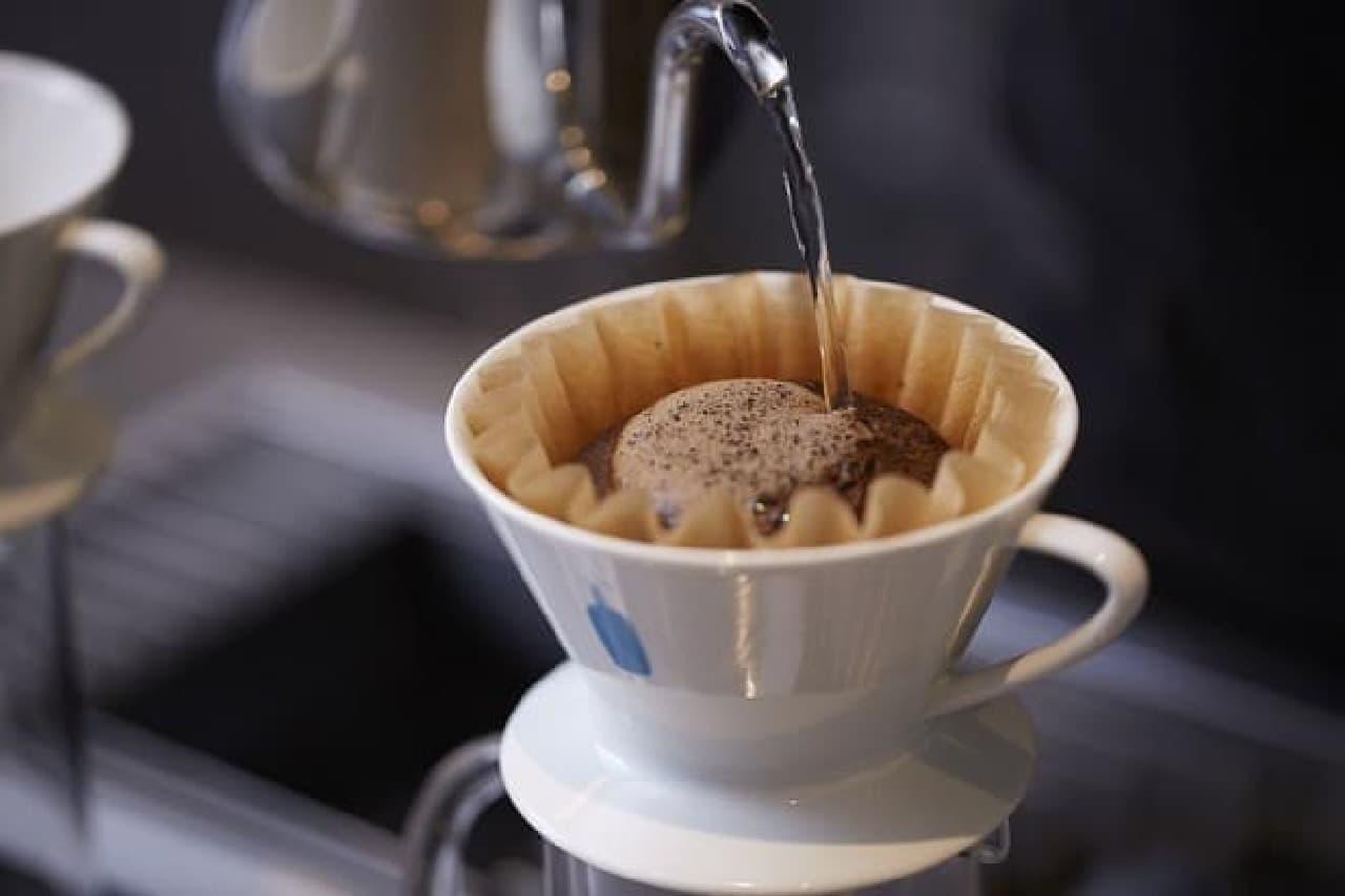 ブルーボトルコーヒー 京都カフェのコーヒー