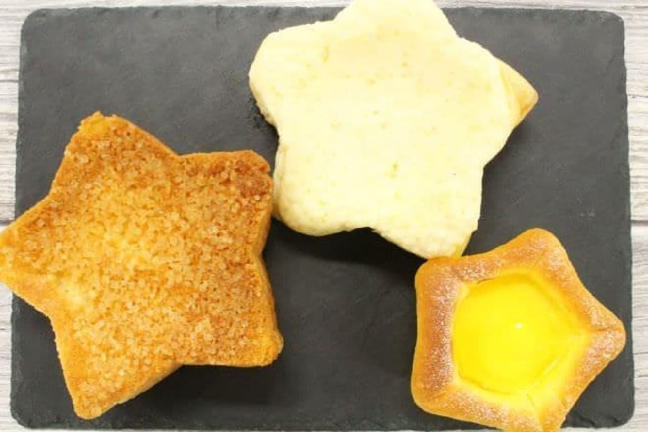 デリフランス 東京スカイツリータウン・ソラマチ店限定の星型パン