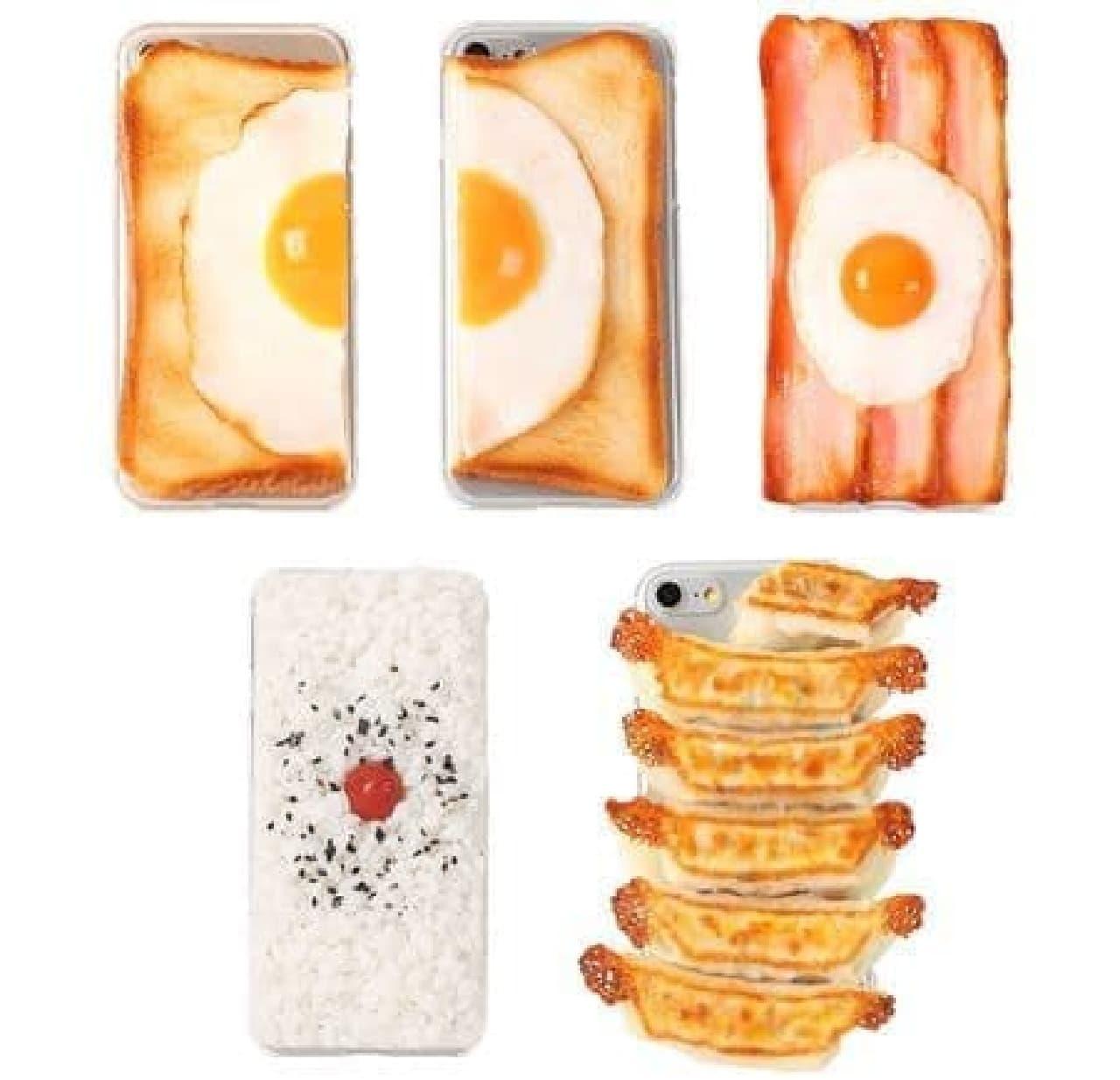 iPhone 8/7専用 食品サンプルカバー