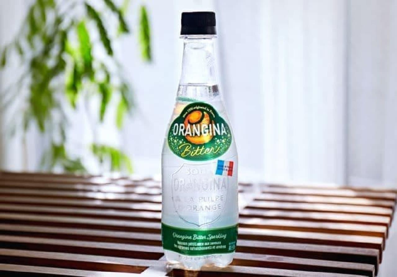 オランジーナ ビタースパークリングは、甘さ控えめの果汁入り炭酸飲料