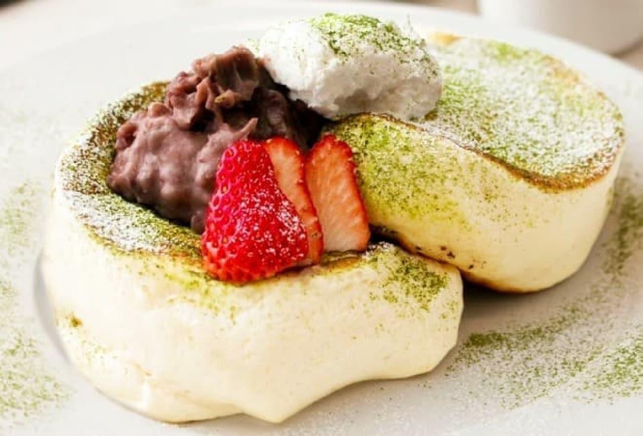 バンクス・カフェ&ダイニング渋谷「抹茶ティラミスパンケーキ」