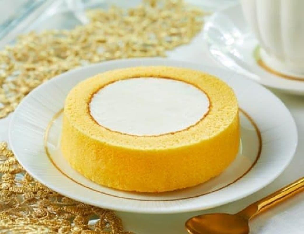 ローソン「新 プレミアムロールケーキ」