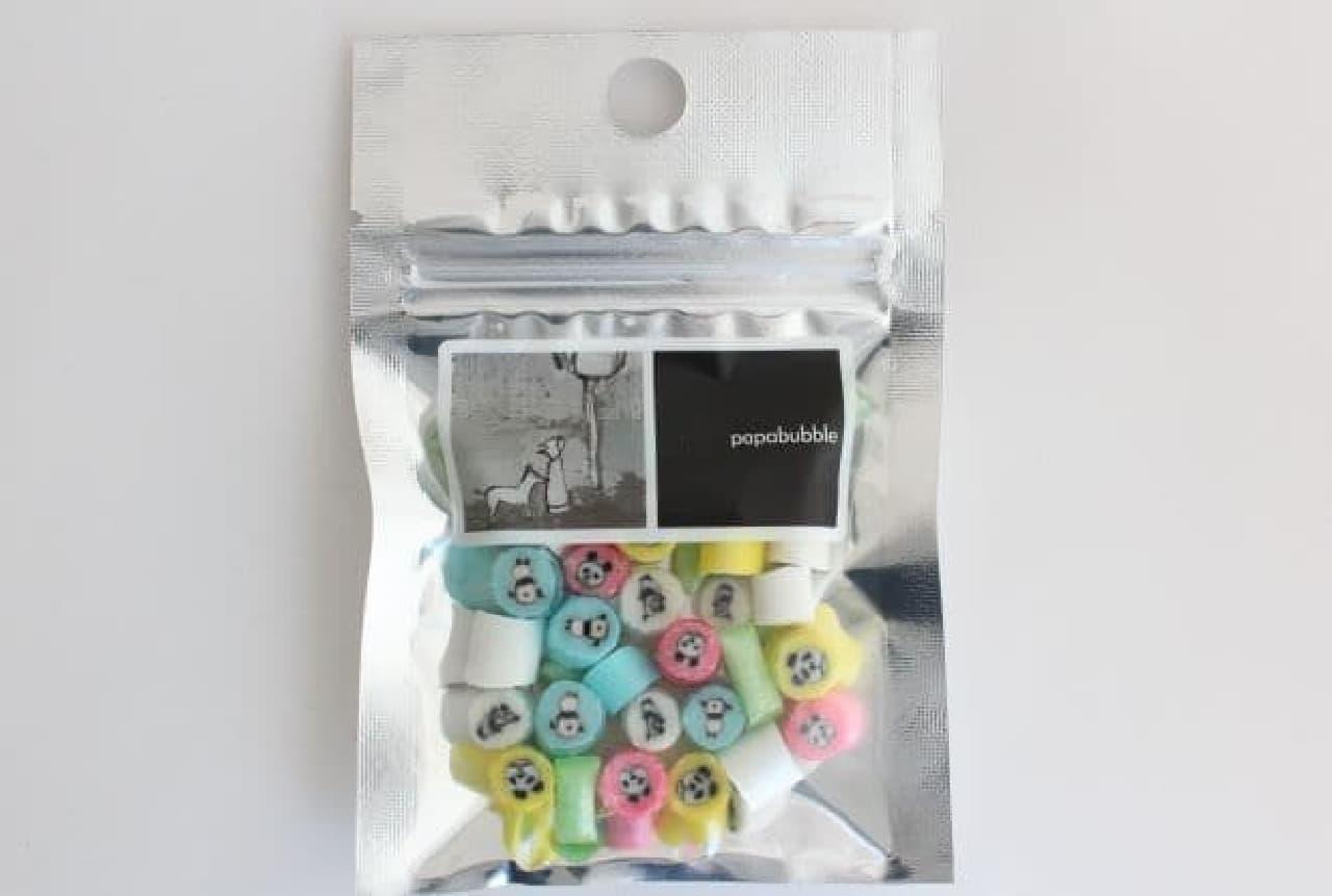 「パンダMIX」は、パンダのモチーフが入ったキャンディ