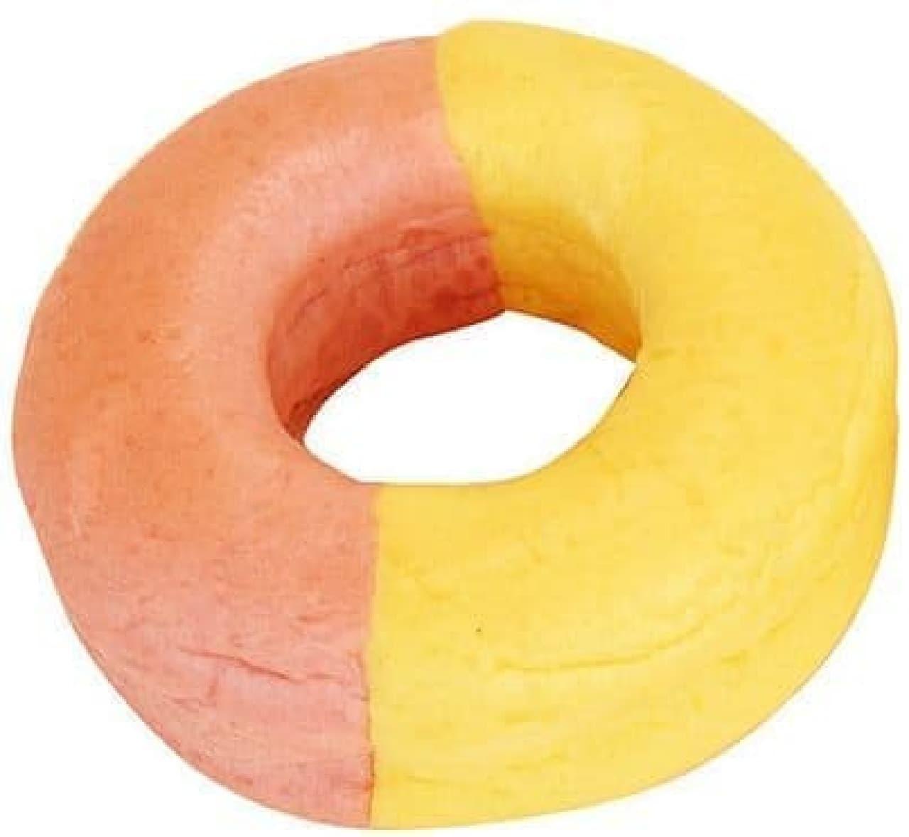 ファミリーマート「いちごとカスタードのリングパン」
