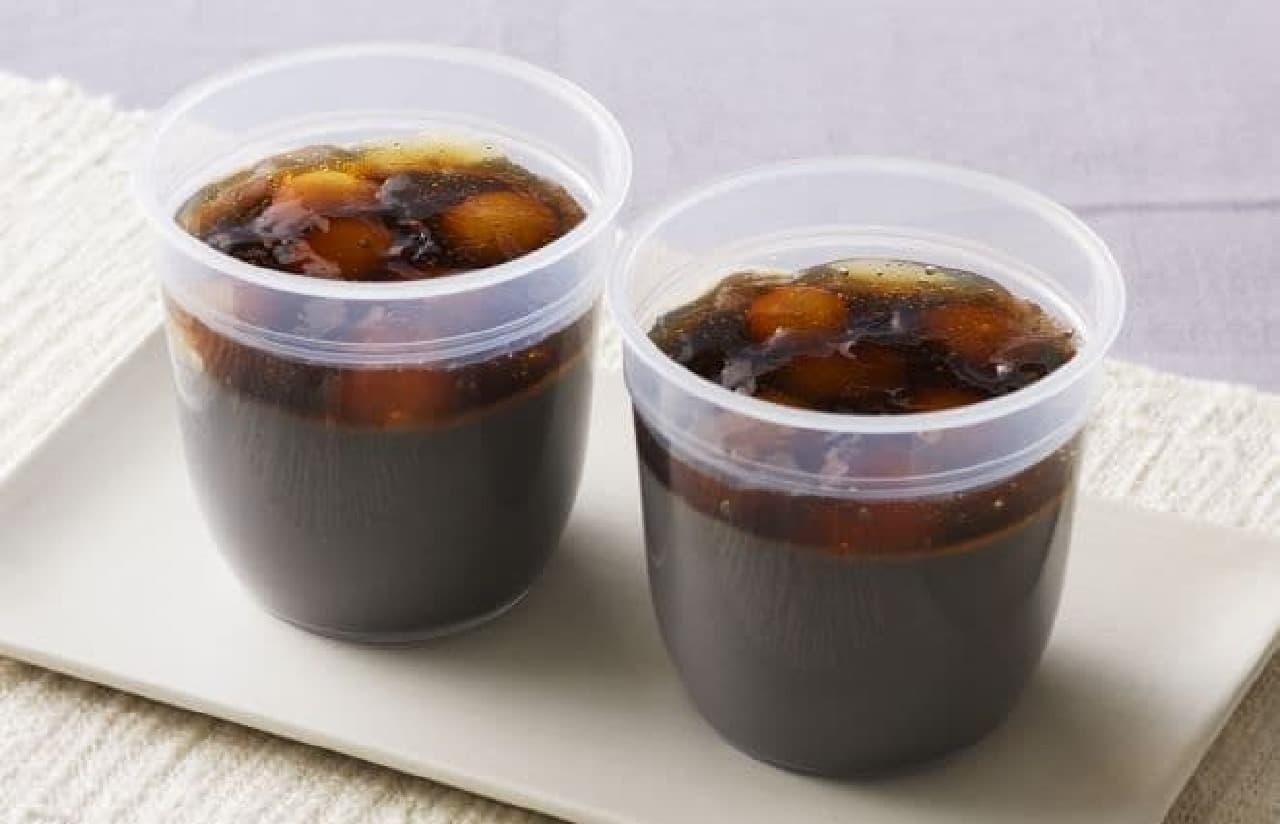 銀座コージーコーナー「和ぷりん ~黒ごま黒糖ソース~」