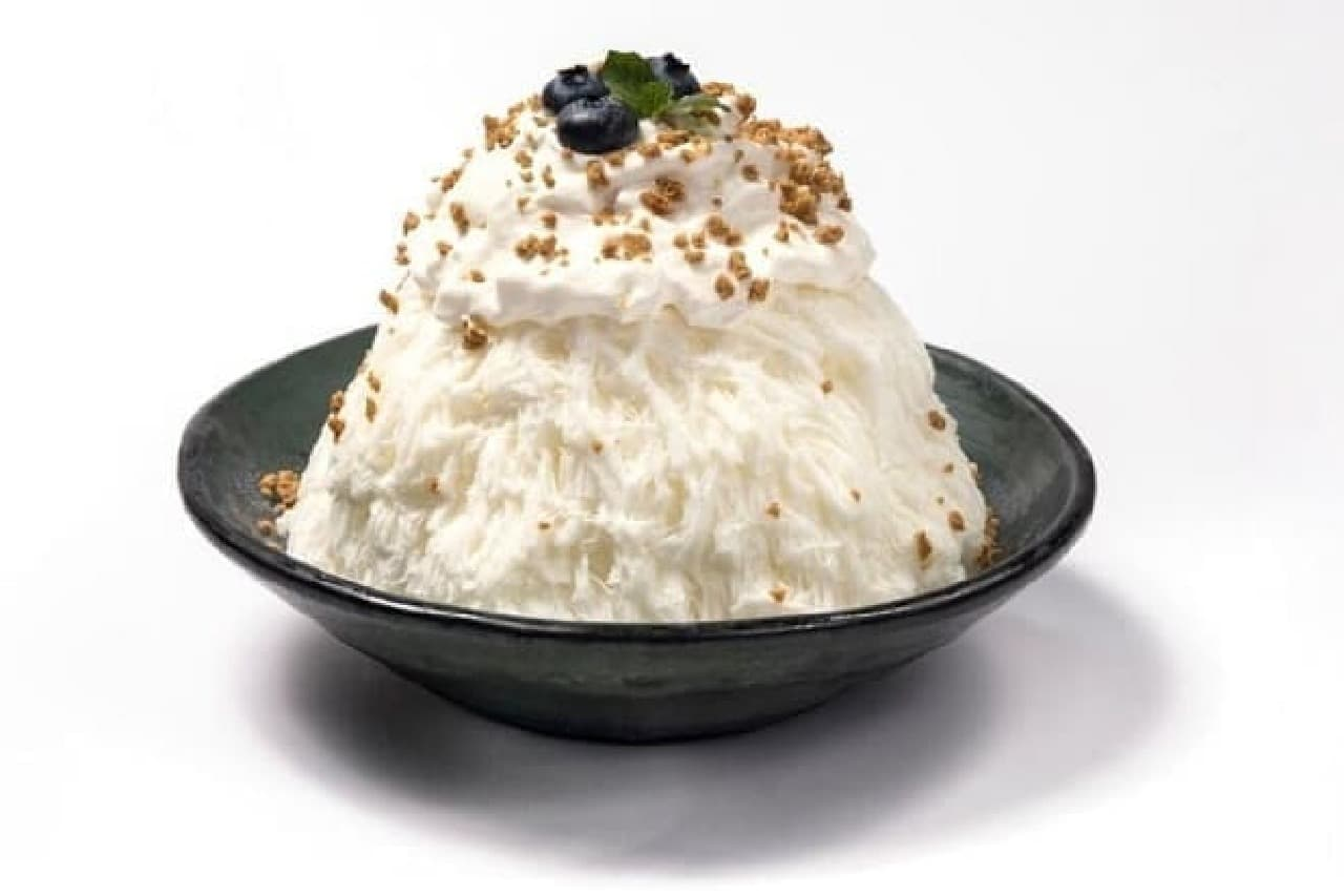 アイスモンスター表参道店「クリームチーズケーキかき氷」