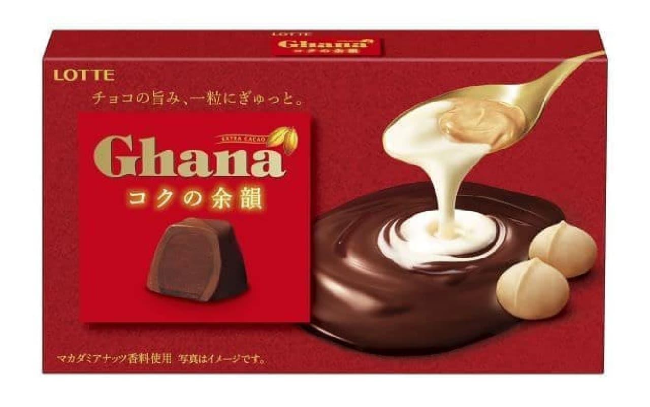 ガーナ<コクの余韻>はチョコの旨みが一粒に閉じ込められたお菓子